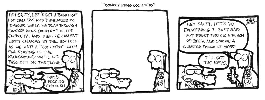 Donkey Kong Columbo
