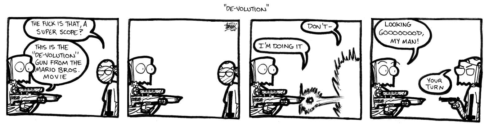 De-volution