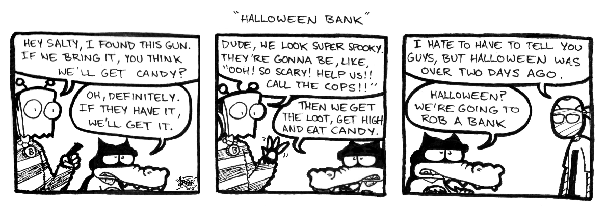 Halloween Bank
