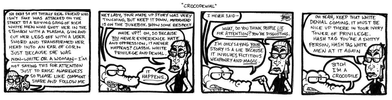 Crocodenial
