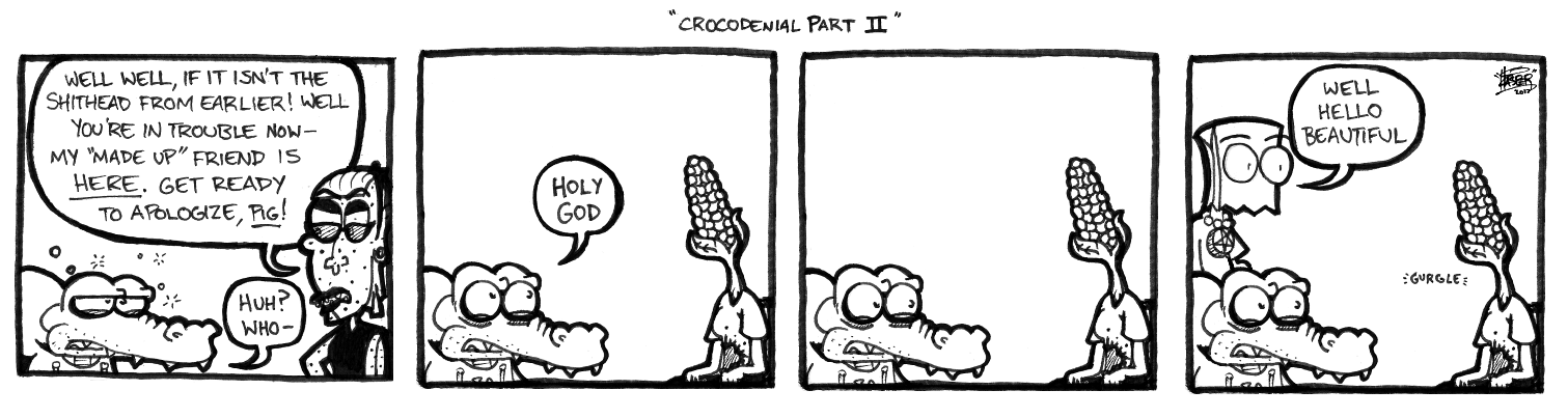 Crocodenial Part II
