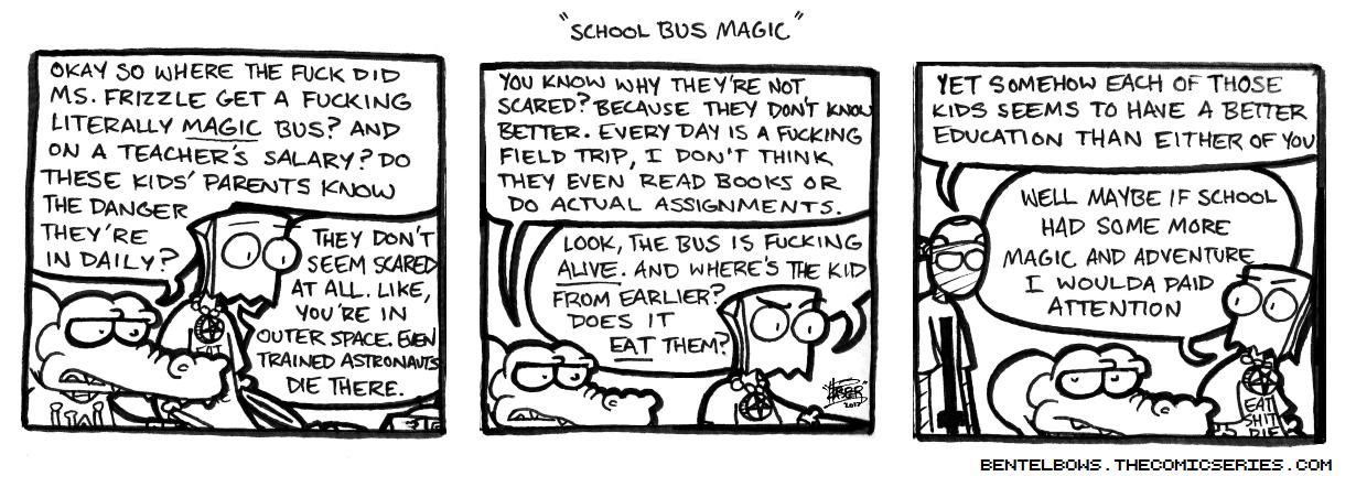 School Bus Magic