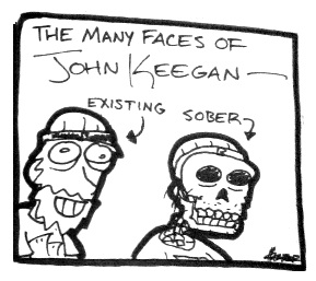 Many Faces of John Keegan