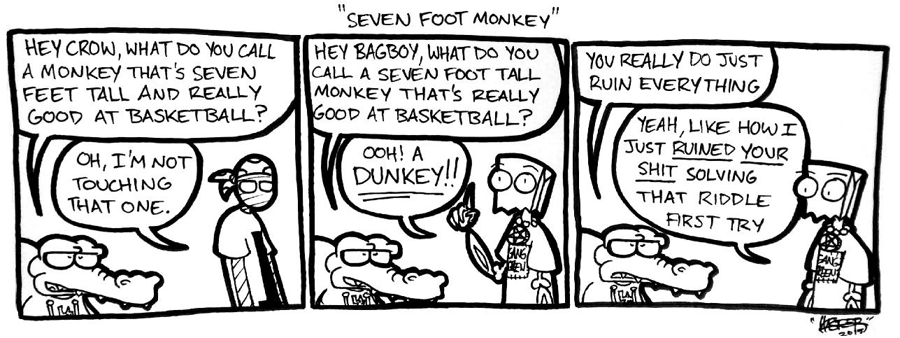 Seven Foot Monkey