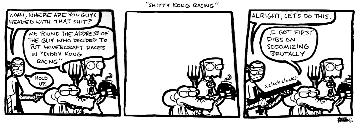 Shitty Kong Racing