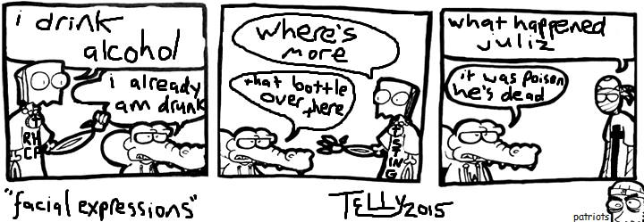 "Guest Strip: ""Telly"""